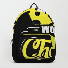 Cheese would be a gods Love Letter Backpack