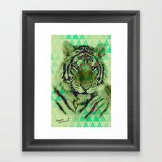 TigerPix Framed Art Print