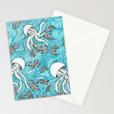 Jelly Leaves Stationery Cards