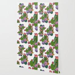 Succulent Garden Wallpaper