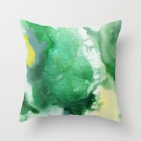 f1 Throw Pillows featuring Naomi F1 by Patricia Vargas