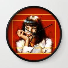 Mia Thurman Wall Clock
