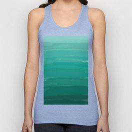 Sea Foam Dream Ombre Unisex Tank Top