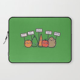 I hate vegans Laptop Sleeve