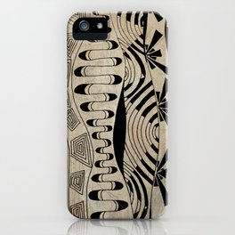 Lines Waves iPhone Case