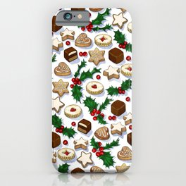 Christmas Treats and Cookies iPhone Case