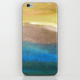watercolor abstract painting_4 iPhone Skin