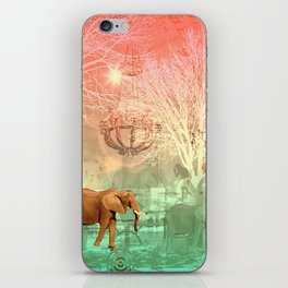 Elephants in the Ballroom iPhone Skin
