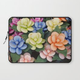 Sugared almonds as petals Laptop Sleeve