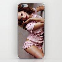 emma watson iPhone & iPod Skins featuring Emma Watson by Susan Lewis