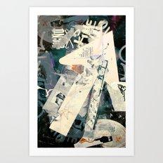 Collide 5 Art Print