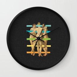Les Trois Graces Wall Clock