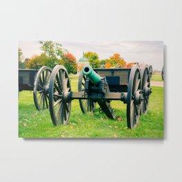 Cannon at Rest Antietam National Battlefield Maryland Metal Print