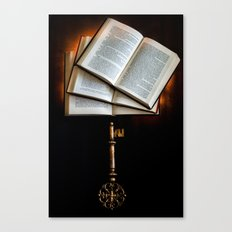 The Key to Knowledge Canvas Print