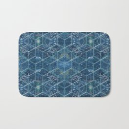 Crystal Geometry Bath Mat