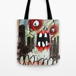 zombie surprise Tote Bag
