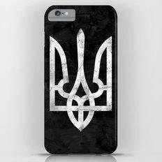 Ukraine Black Grunge Slim Case iPhone 6s Plus