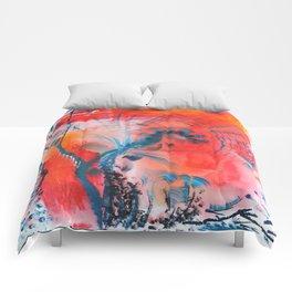 Joyous Lines Comforters
