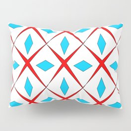 symetric patterns 25 -mandala,geometric,rosace,harmony,star,symmetry Pillow Sham