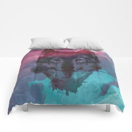 the wolf 7 Comforters
