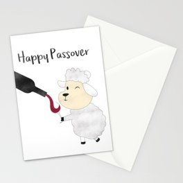 Enjoy Passover with Lamb Stationery Cards