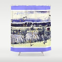 The Countryside In New York Shower Curtain