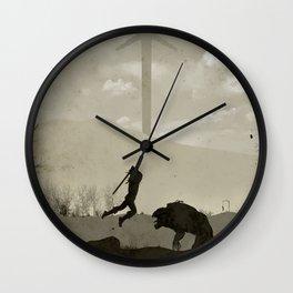 Witcher Artwork Wall Clock