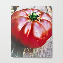 Tomato Heirloom Metal Print