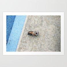 Panamá - Piscina Art Print