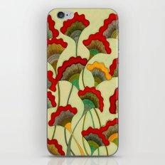 Poppies (warm) iPhone & iPod Skin