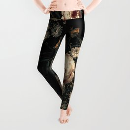 Midnight Garden XIV Leggings