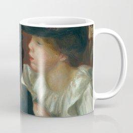 "Auguste Renoir ""At the Theatre, the Box"" Coffee Mug"