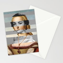 Raphael's Young Woman with Unicorn & Elizabeth Taylor Stationery Cards