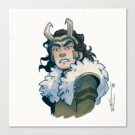 Agent of Asgard Canvas Print