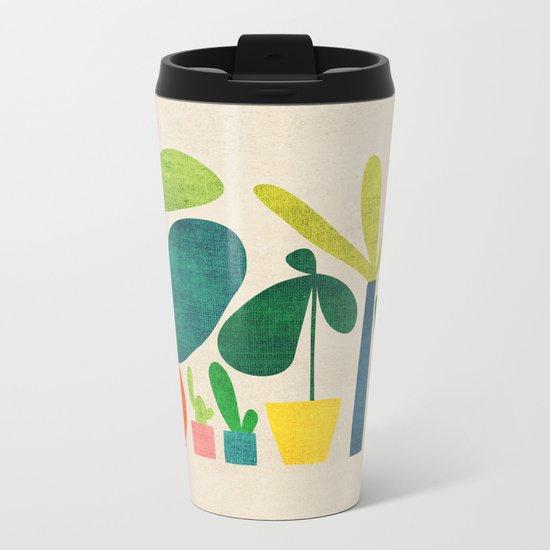 Greens Metal Travel Mug