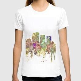 Louisville, Kentucky Skyline - Faded Glory T-shirt