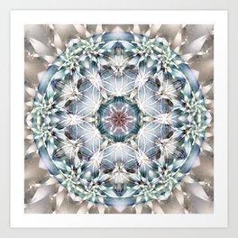 Flower of Life Mandalas 1 Art Print