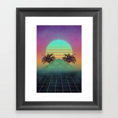 80s love Framed Art Print