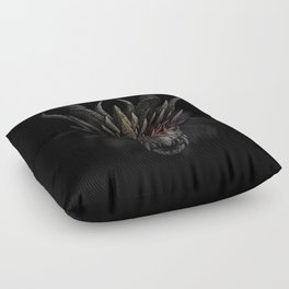 Red eyed dragon Floor Pillow