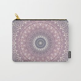 gray pink mandala Carry-All Pouch