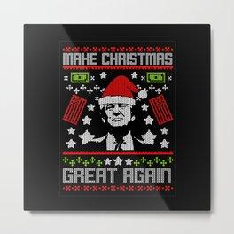 make christmas Metal Print