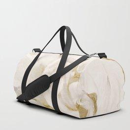 Petals Impasto Alabaster Duffle Bag
