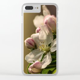 Apel flower Clear iPhone Case