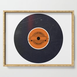 Vinyl Record Art & Design | World Post Serving Tray