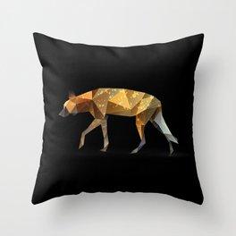 Wild African Dog. Throw Pillow