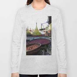 View from the Nunnery, Myanmar Long Sleeve T-shirt