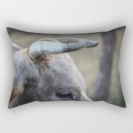 Horns in the Light Rectangular Pillow