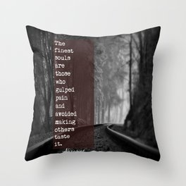 The Finest Souls Throw Pillow