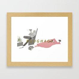 ROUGHAGE Framed Art Print
