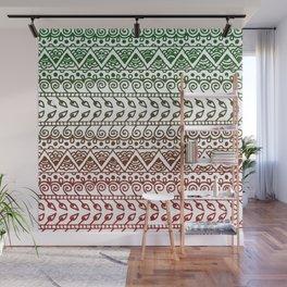 Holiday Henna Pattern Wall Mural